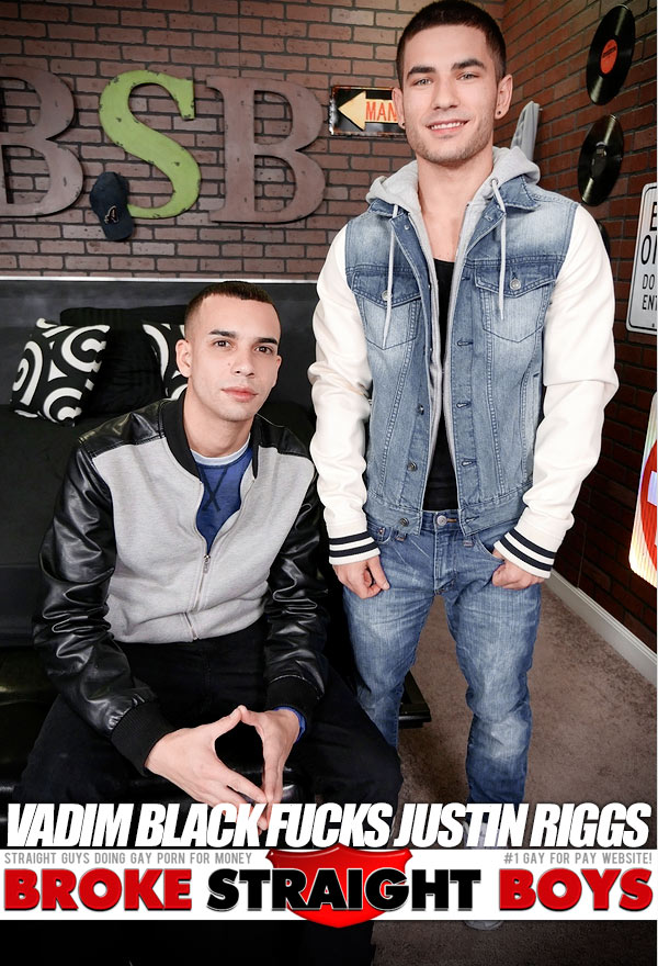 Vadim Black Fucks Justin Riggs at Broke Straight Boys