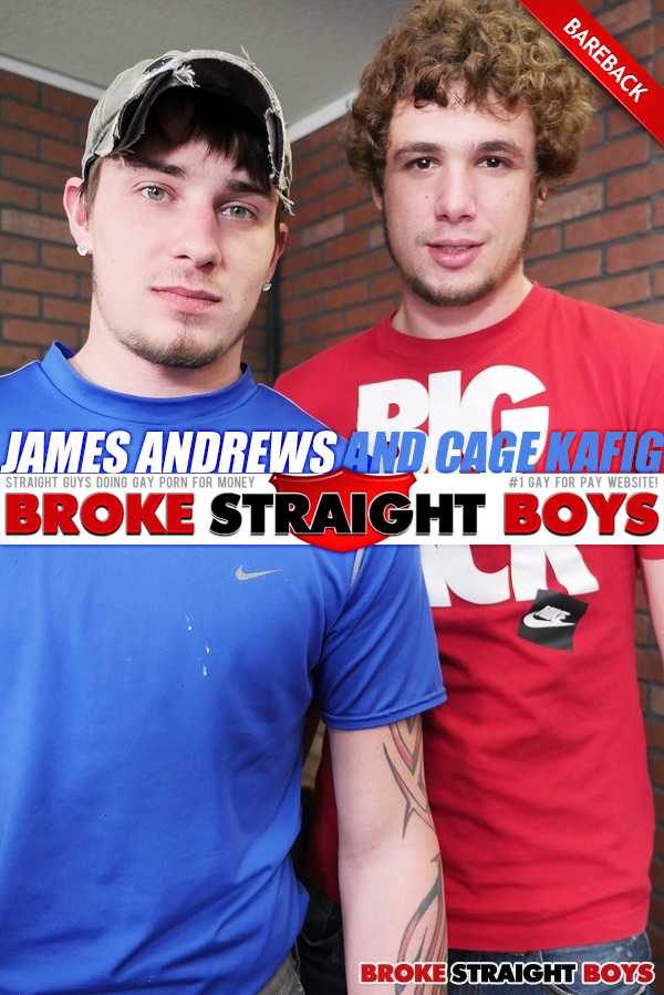 James Andrews Fucks Cage Kafig at Broke Straight Boys