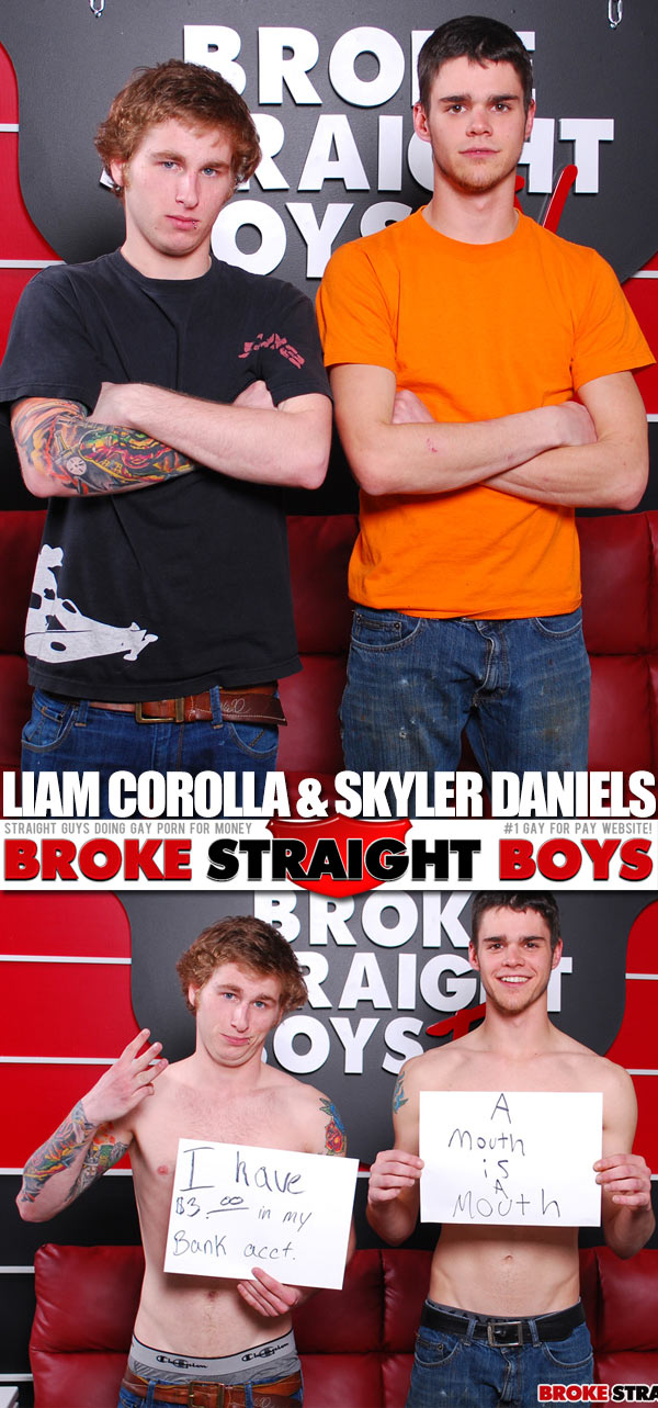 Liam Corolla & Skyler Daniels at Broke Straight Boys