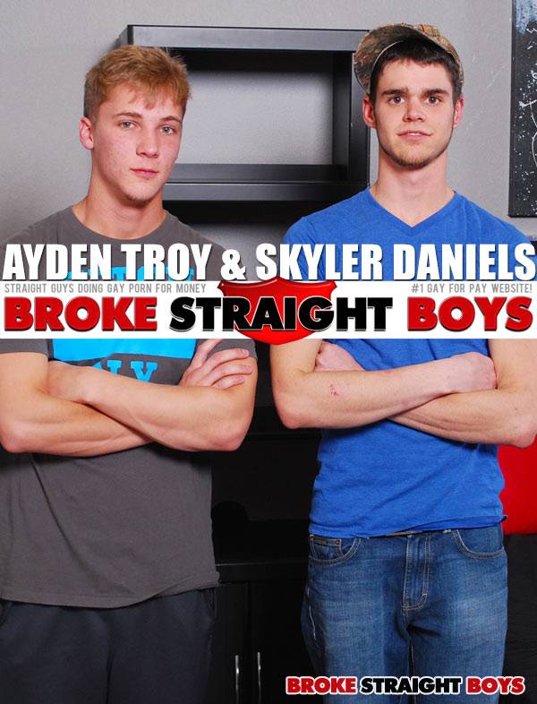 Ayden Troy & Skyler Daniels at Broke Straight Boys