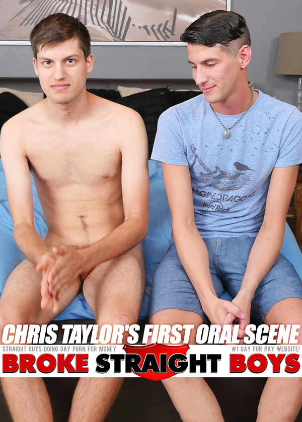 Chris Taylor's First Oral Scene at Broke Straight Boys