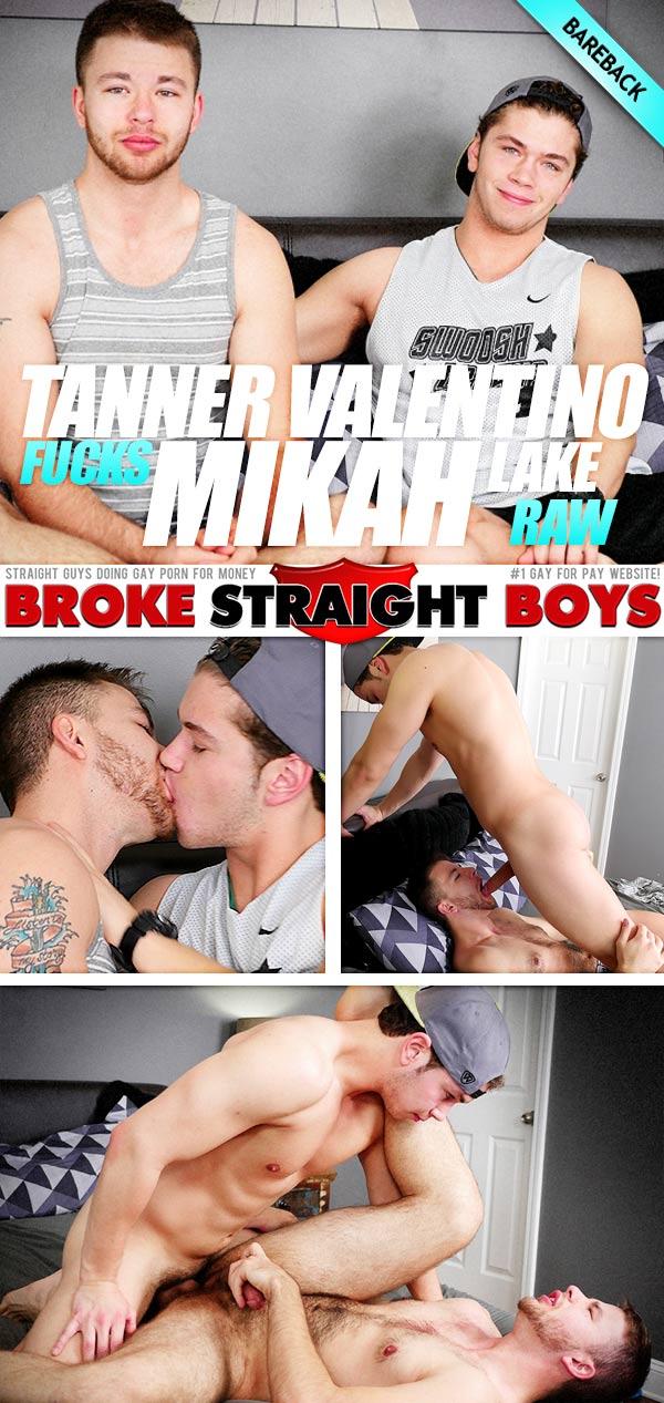 Tanner Valentino Drills Mikah Lake (Bareback) at Broke Straight Boys