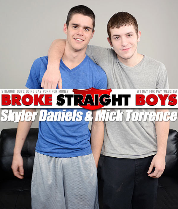 Skyler Daniels & Mick Torrence at Broke Straight Boys