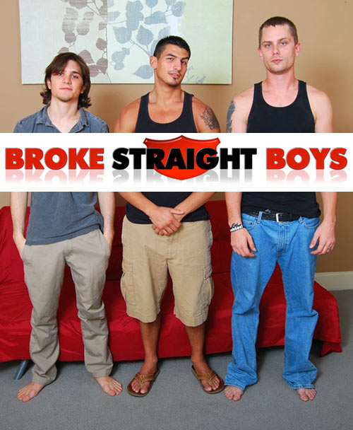 Matt, Rocco & Vinnie at Broke Straight Boys