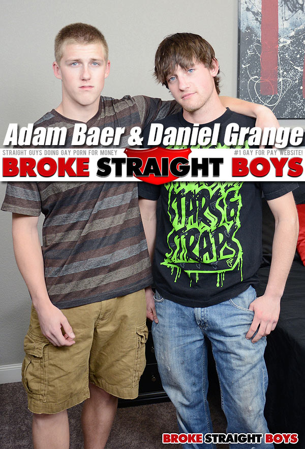 Adam Baer & Daniel Grange (Bareback) at Broke Straight Boys