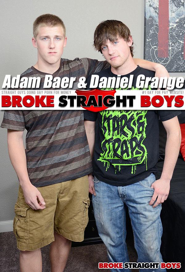 Adam Baer & Daniel Grange (Bareback) at Broke Straight Boys