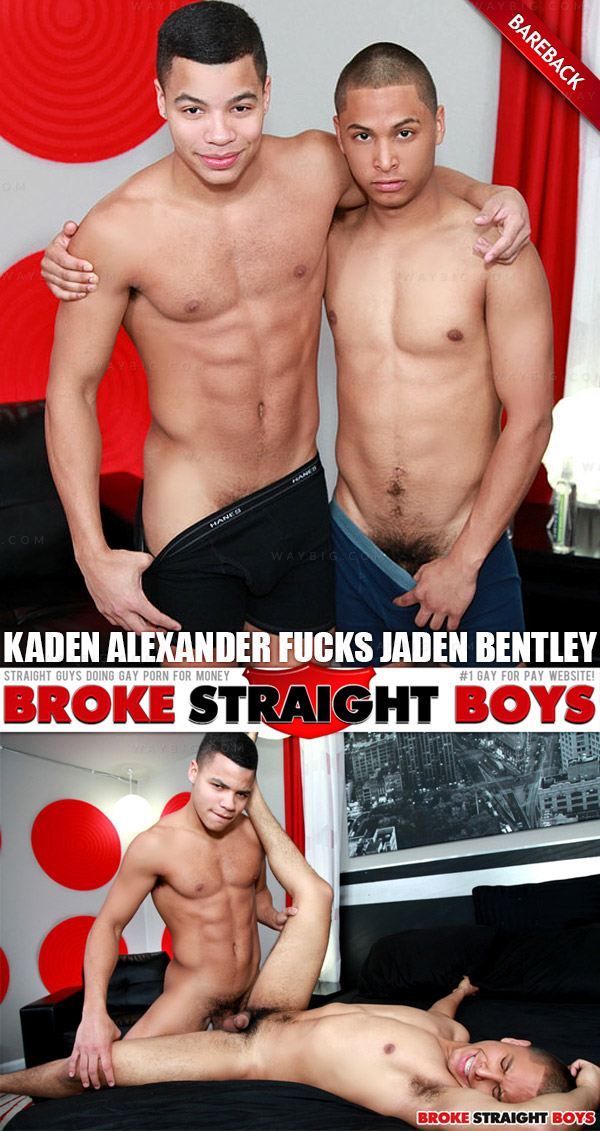 Kaden Alexander Fucks Jaden Bentley at Broke Straight Boys