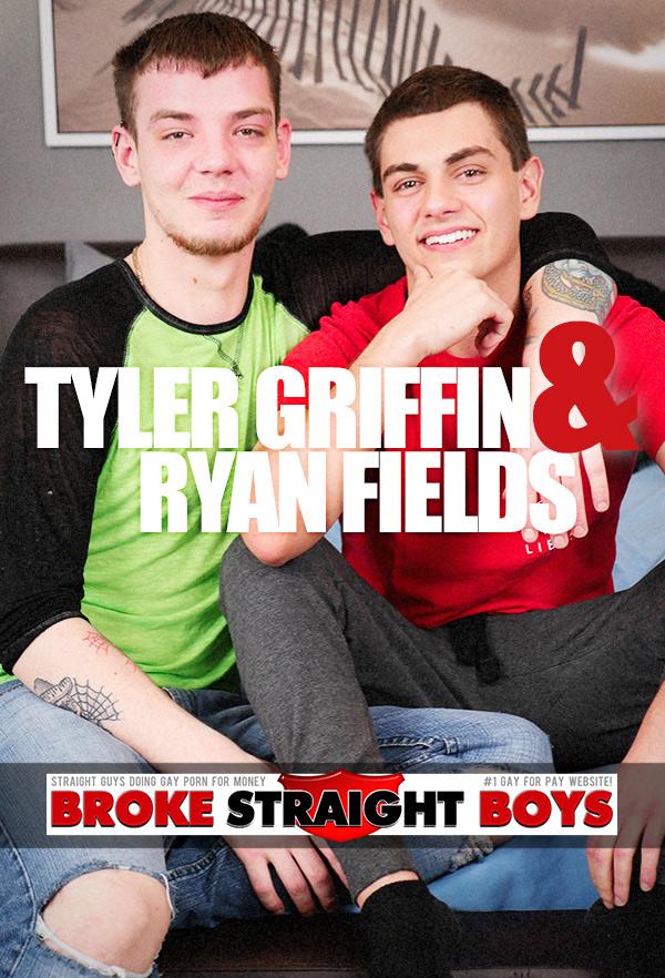Tyler Griffin & Ryan Fields (Bareback Flip-Fuck) at Broke Straight Boys