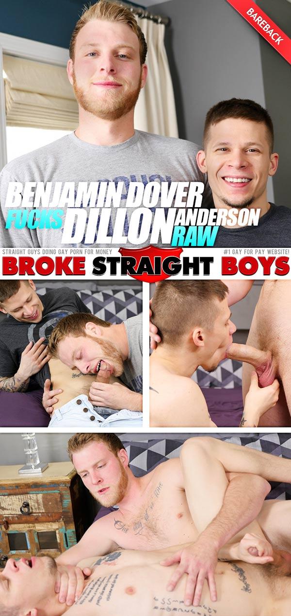 Broke Straight With Schlong Having Gay Porno For Dough