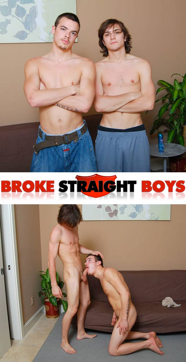 Jamie & Rocco at Broke Straight Boys