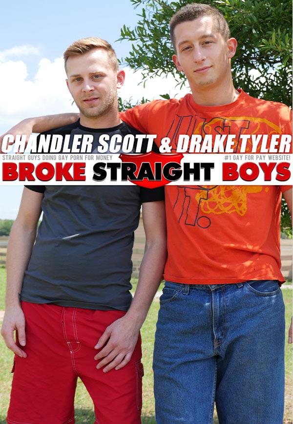 Chandler Scott & Drake Tyler at Broke Straight Boys