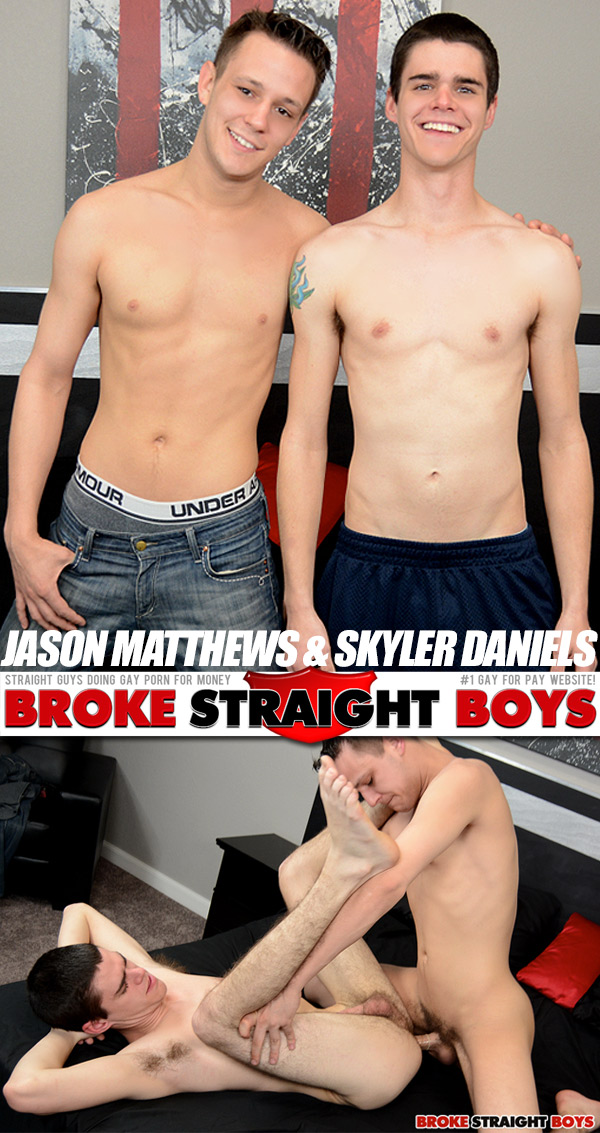 Jason Matthews & Skyler Daniels at Broke Straight Boys
