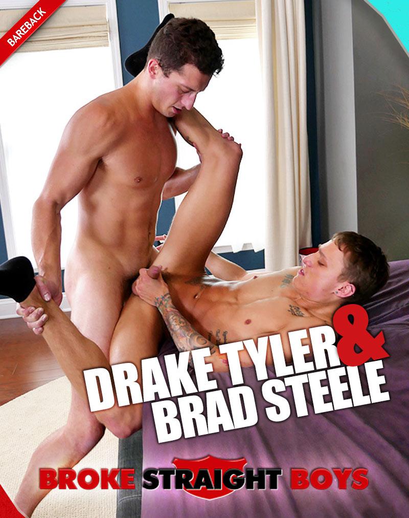 Drake Tyler Barebacks Brad Steele at Broke Straight Boys