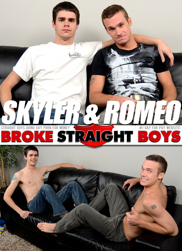 Romeo James & Skyler Daniels at Broke Straight Boys