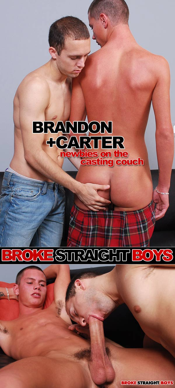 Brandon Hart & Carter Blane at Broke Straight Boys