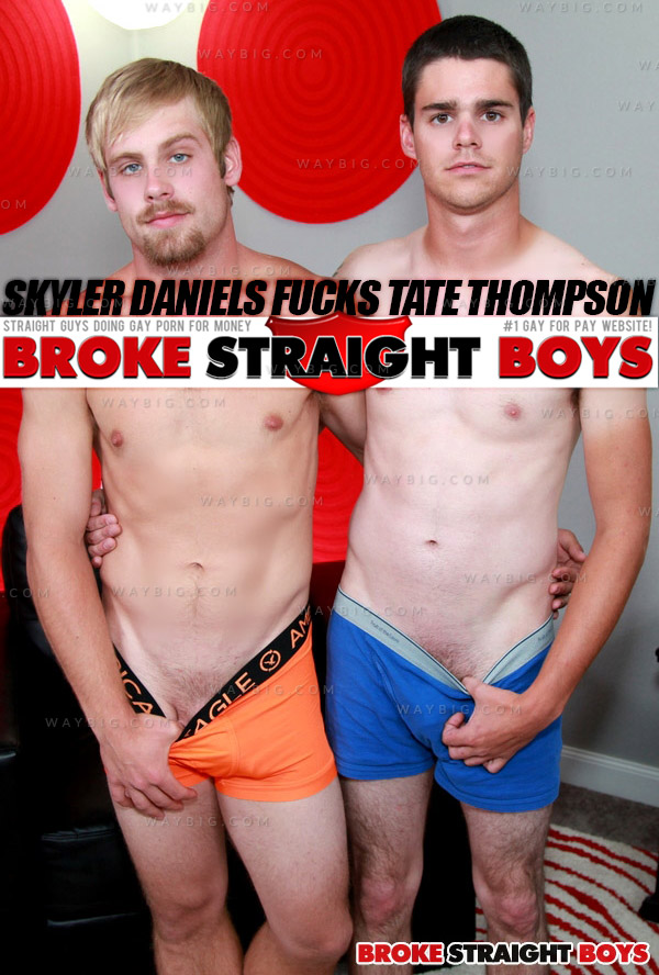 Skyler Daniels Fucks Tate Thompson at Broke Straight Boys