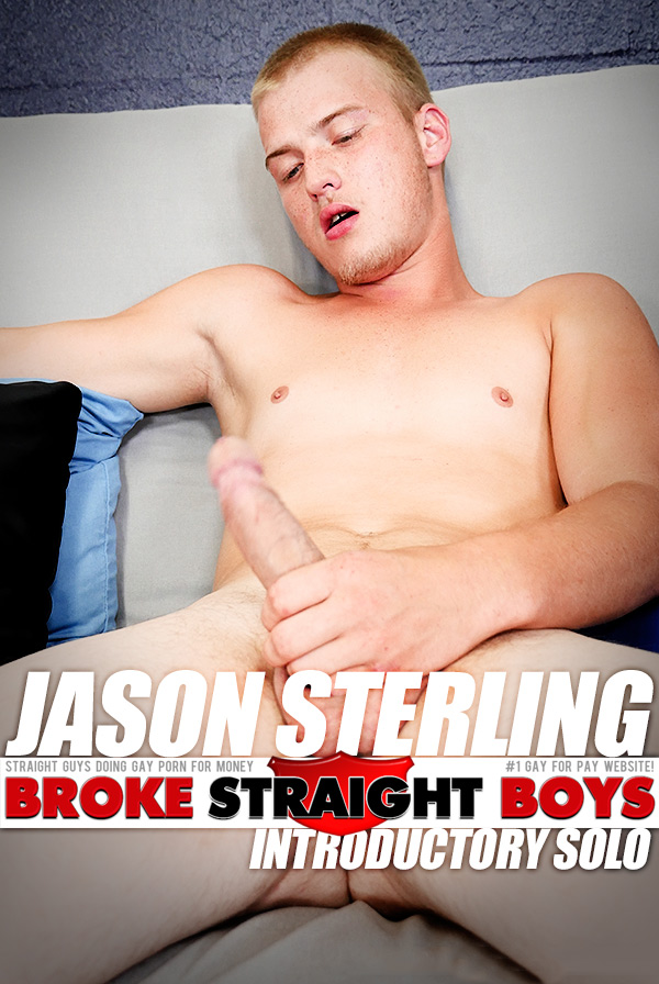 Jason Sterling (Solo) at Broke Straight Boys