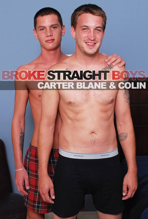 Carter Blane & Colin at Broke Straight Boys