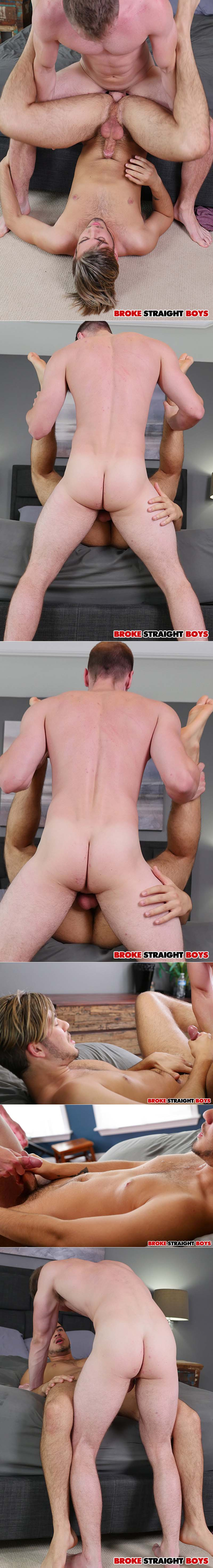 Brandon Evans Fucks Grey Donovan (Bareback) at Broke Straight Boys
