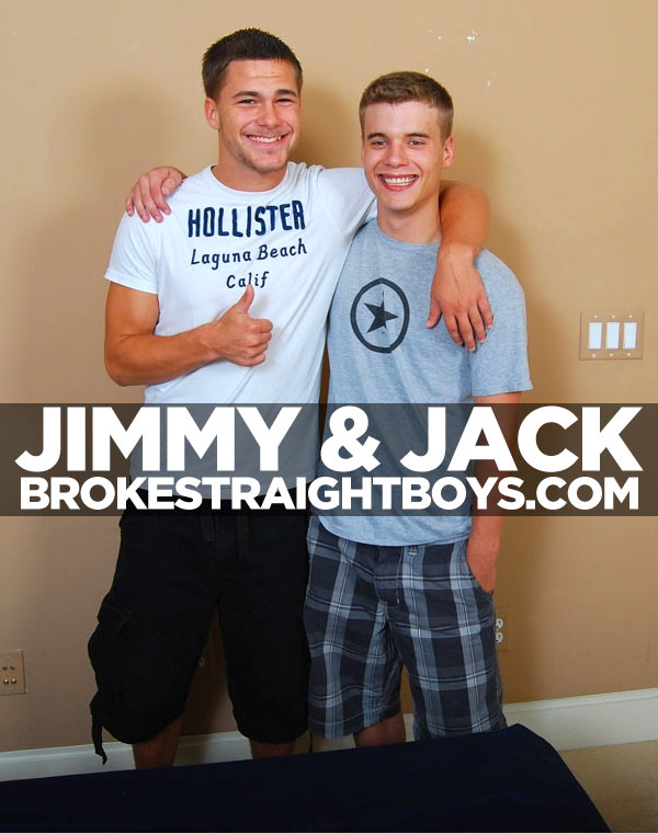 Jimmy & Jack at Broke Straight Boys