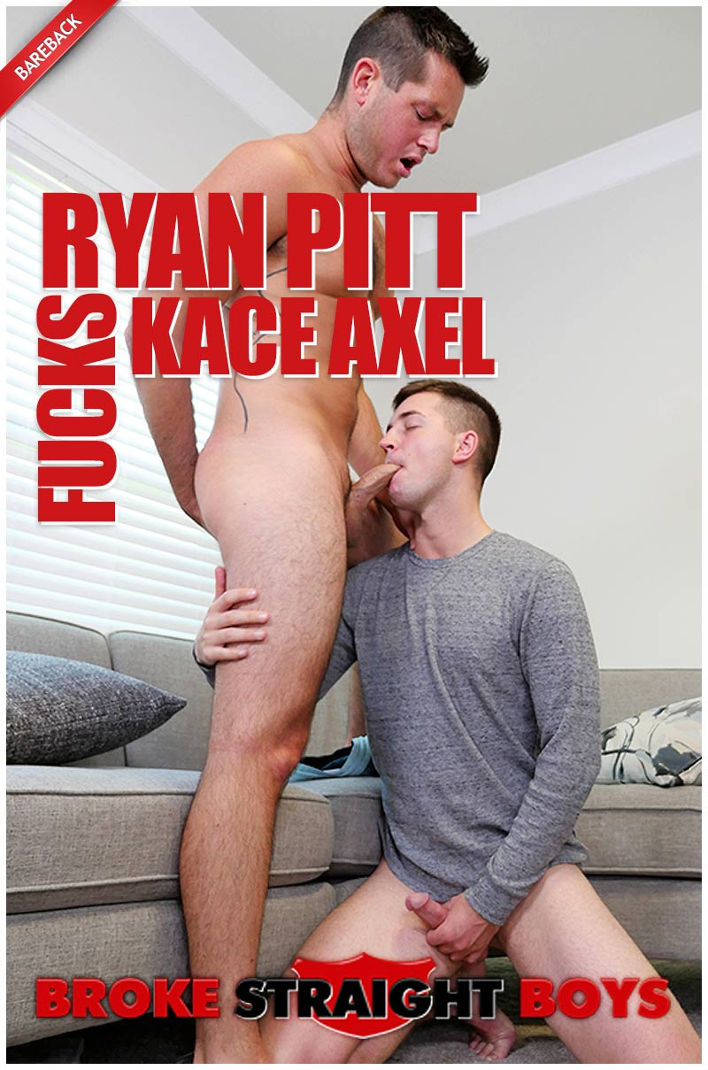 Ryan Pitt and Kace Axel Flip-Fuck at Broke Straight Boys