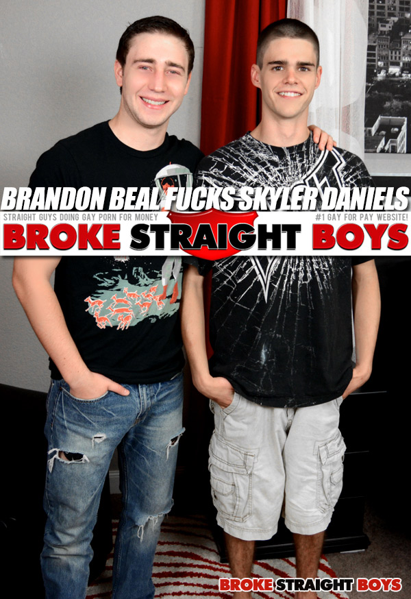 Brandon Beal Fucks Skyler Daniels at Broke Straight Boys