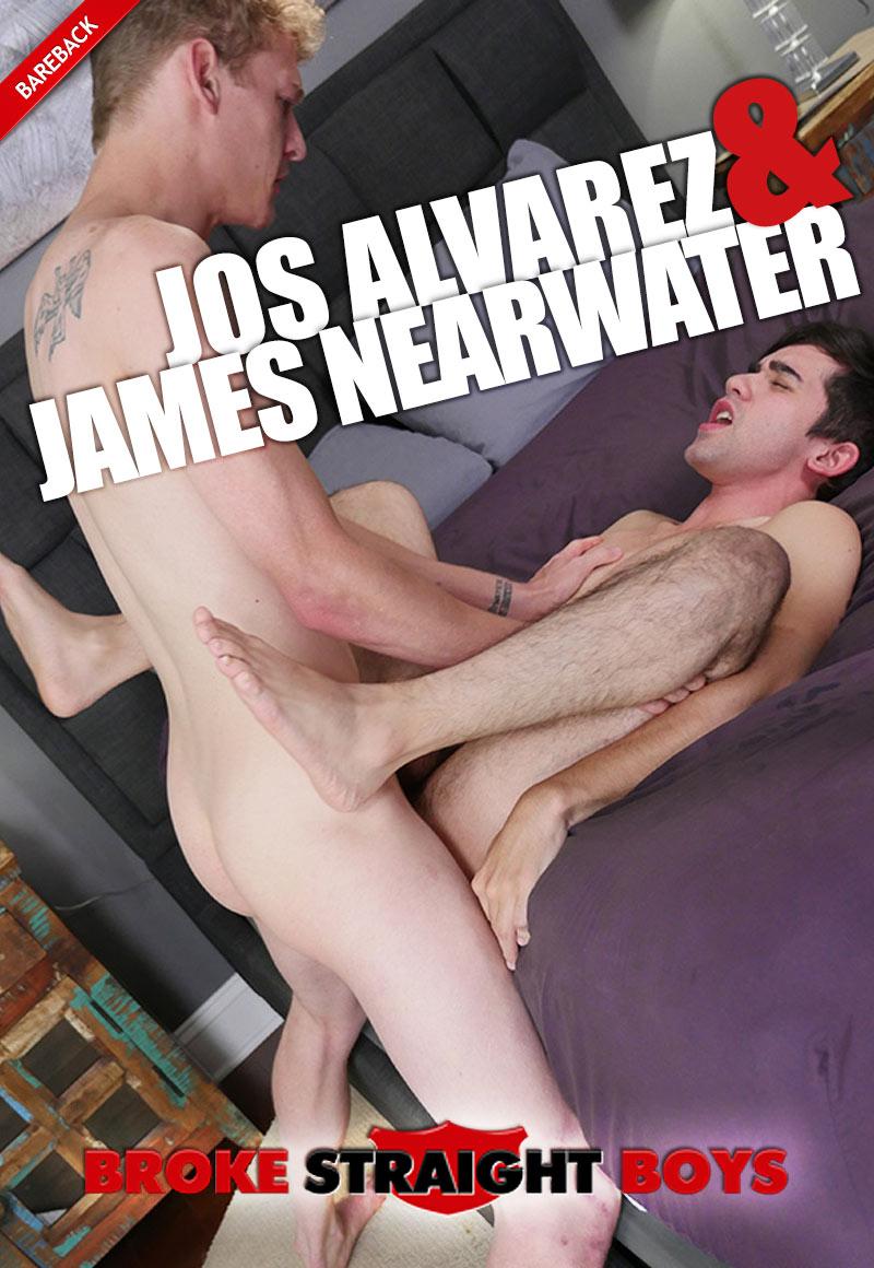 James Nearwater Fucks Jos Alvarez (Bareback) at Broke Straight Boys