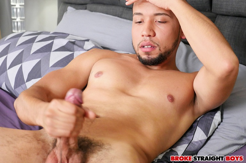 Hunter Lopez (Introduces His Dick) at Broke Straight Boys