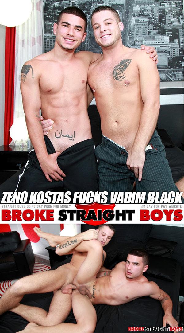 Zeno Kostas Fucks Vadim Black at Broke Straight Boys