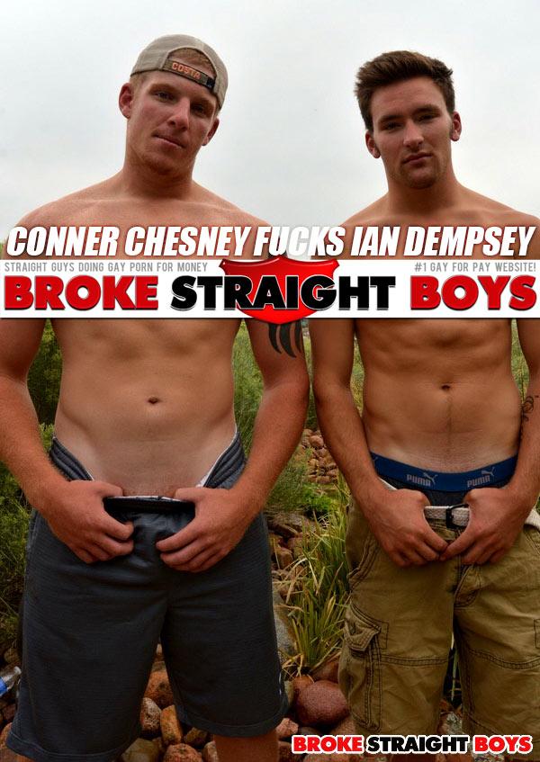 Conner Chesney Fucks Ian Dempsey at Broke Straight Boys