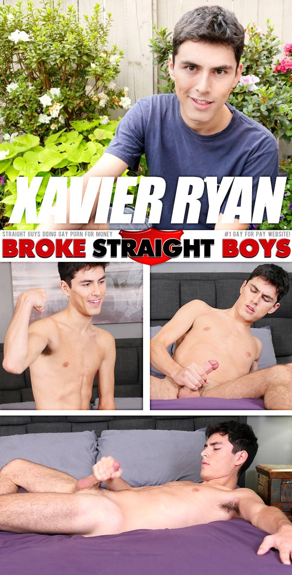 Xavier Ryan at Broke Straight Boys