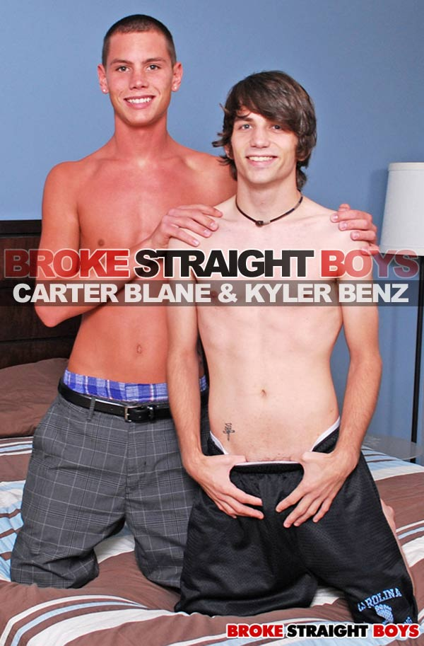 Carter Blane & Kyler Benz at Broke Straight Boys
