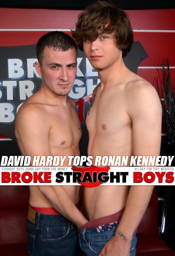 David Hardy Tops Ronan Kennedy at Broke Straight Boys