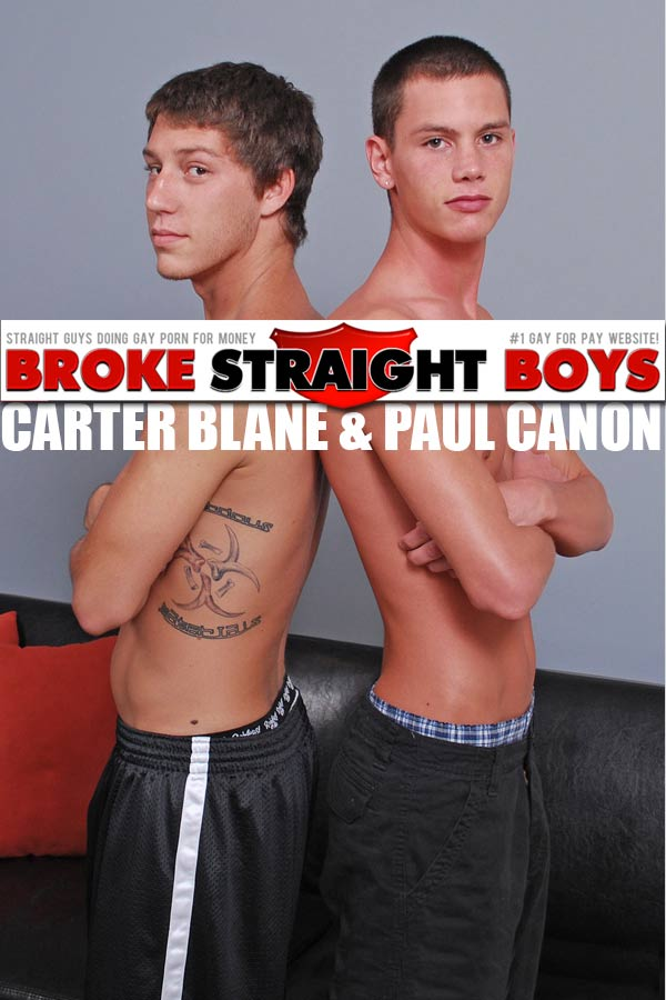 Carter Blane & Paul Canon at Broke Straight Boys