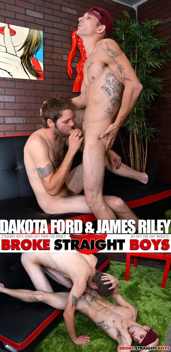 Dakota Ford & James Riley at Broke Straight Boys