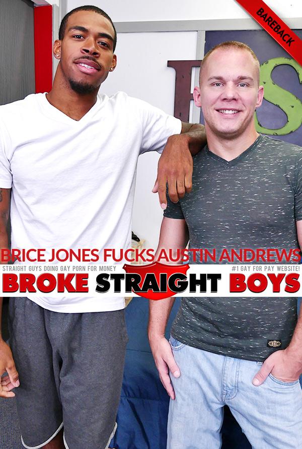 Brice Jones Fucks Austin Andrews Bareback at Broke Straight Boys
