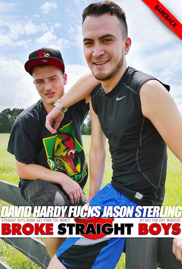 David Hardy Fucks Jason Sterling (Bareback) at Broke Straight Boys