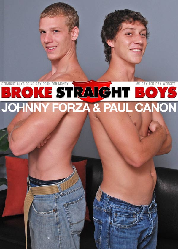 Paul Canon & Johnny Forza at Broke Straight Boys
