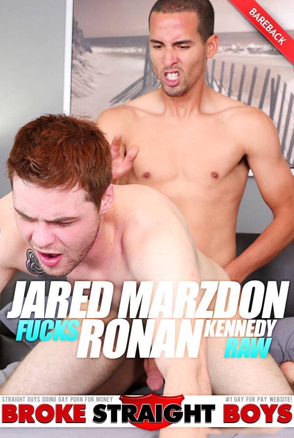 Jared Marzdon Fucks Ronan Kennedy (Bareback) at Broke Straight Boys