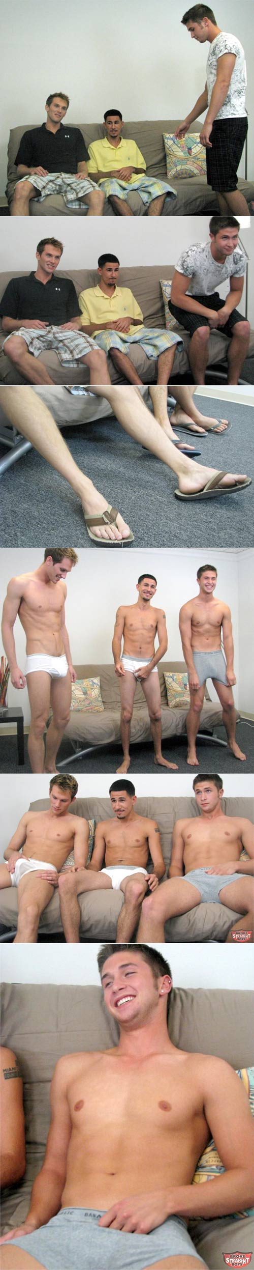 Logan, Shane & Ricky at Broke Straight Boys