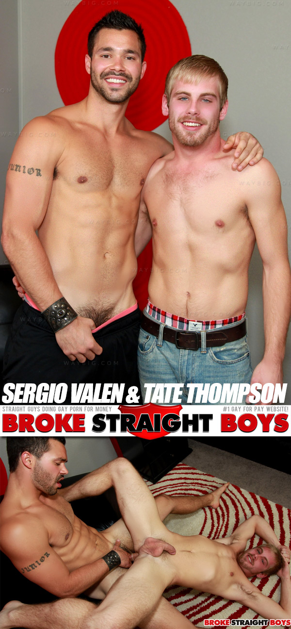 Sergio Valen & Tate Thompson at Broke Straight Boys