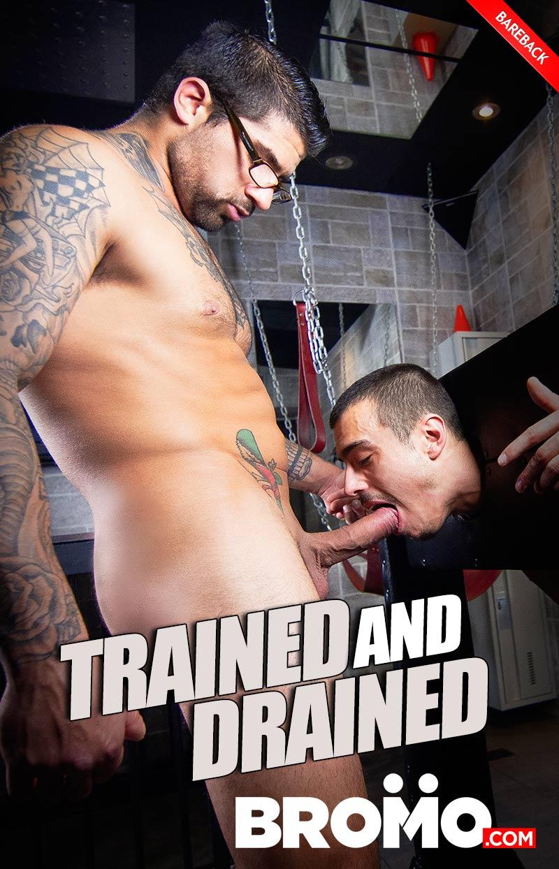 Trained And Drained (Ryan Bones Fucks Sean Peek) at BROMO