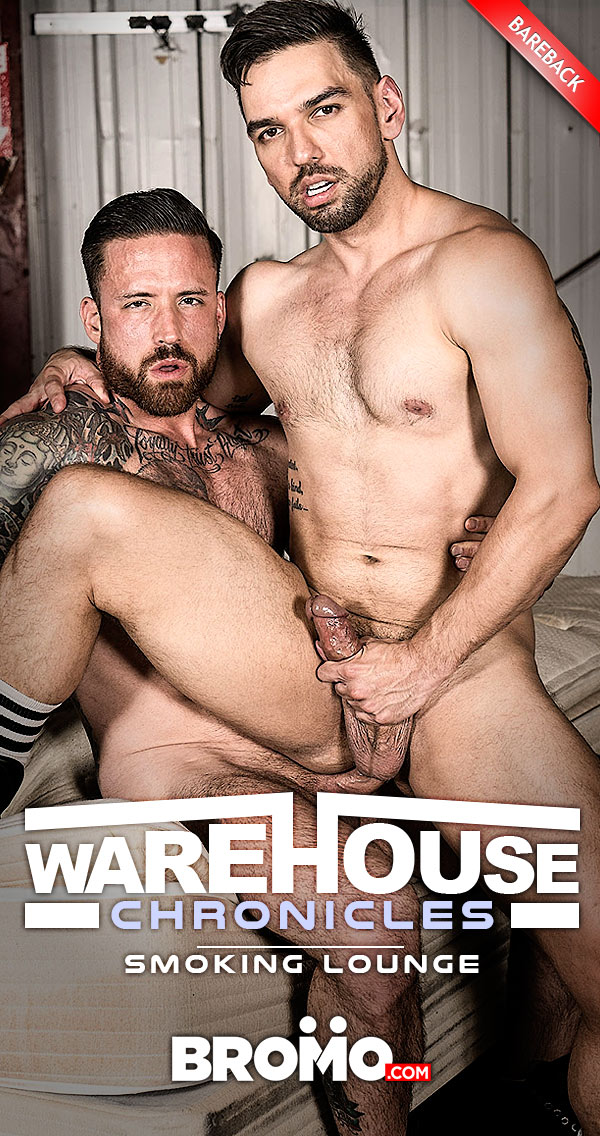 Warehouse Chronicles: Smoking Lounge (Jordan Levine Barebacks Lucky Daniels) at Bromo