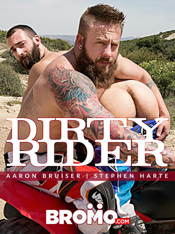 Dirty Rider (Aaron Bruiser Fucks Stephen Harte) (Part 1) at Bromo