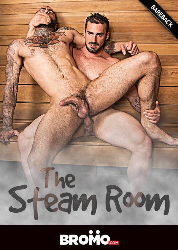 The Steam Room (Jaxton Wheeler Fucks Rikk York) (Part 1) at Bromo