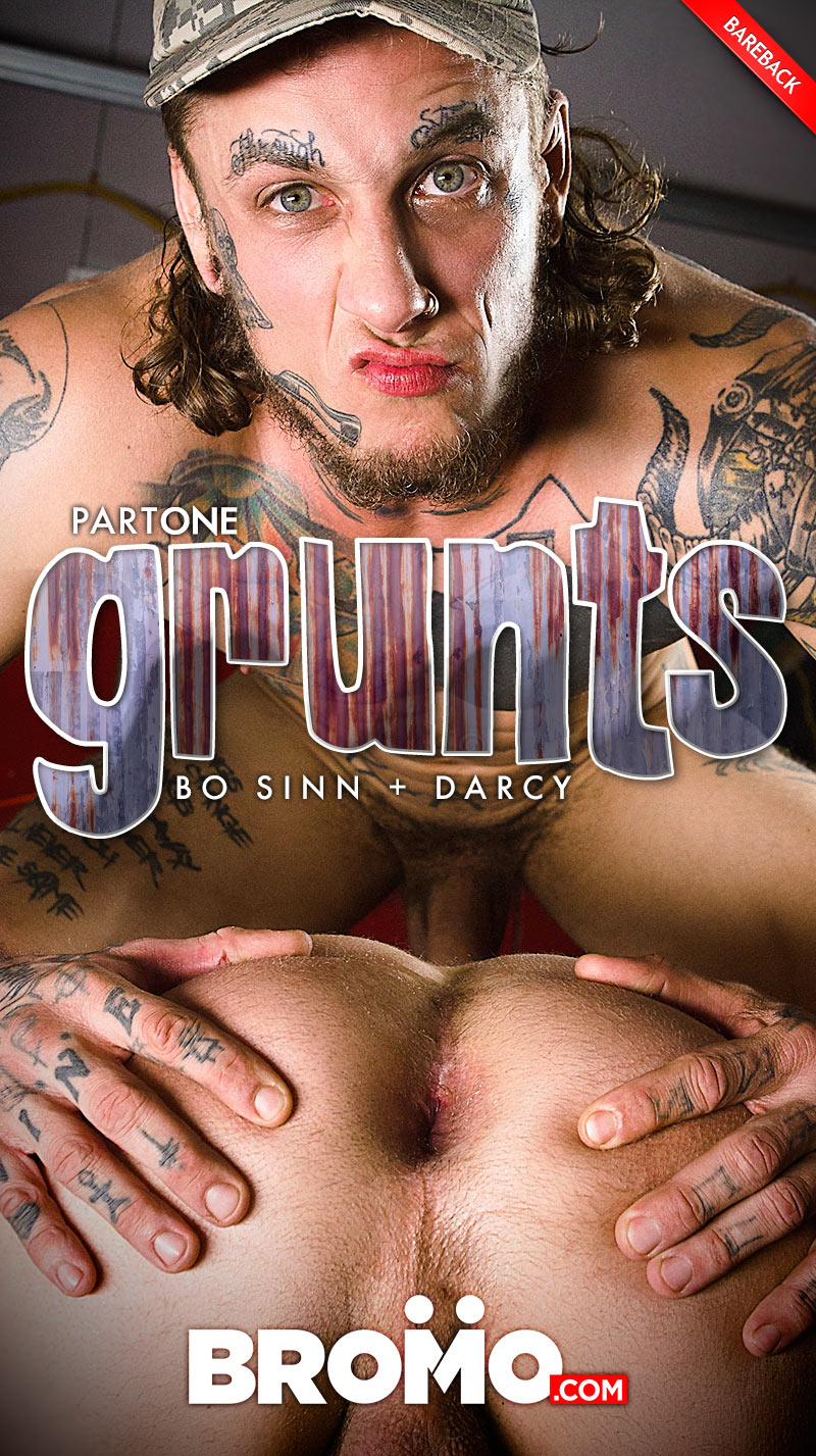 Grunts, Part 1 (Bo Sinn Fucks Darcy) at BROMO! at BROMO