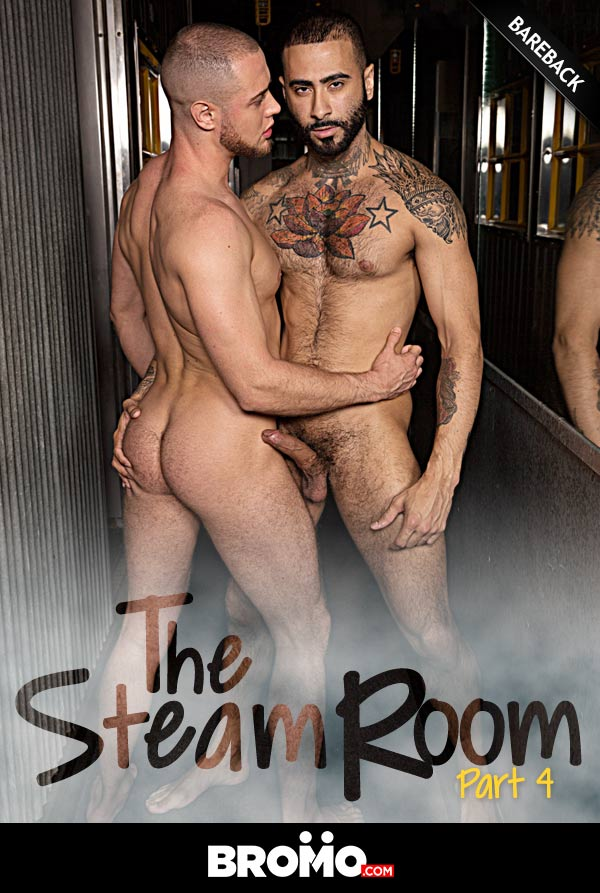 The Steam Room (Rikk York Fucks Brendan Phillips) (Part 4) at Bromo
