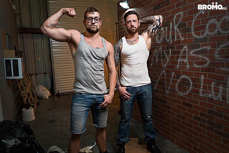 Whore Alley (Jordan Levine Fucks Jay Austin) (Part 2) at BROMO