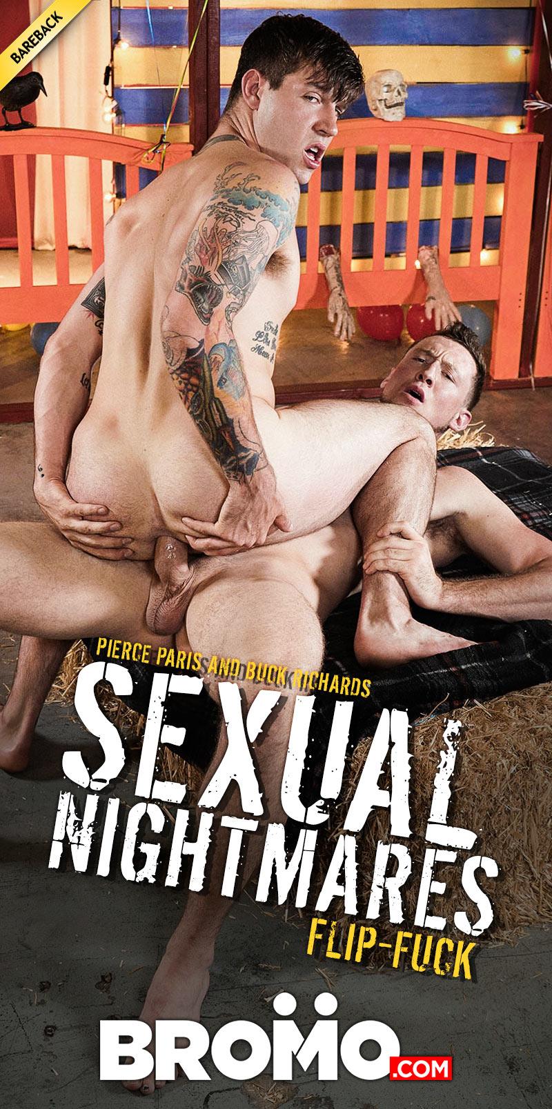 Sexual Nightmares, Part Three (Pierce Paris Fucks Buck Richards) at BROMO!