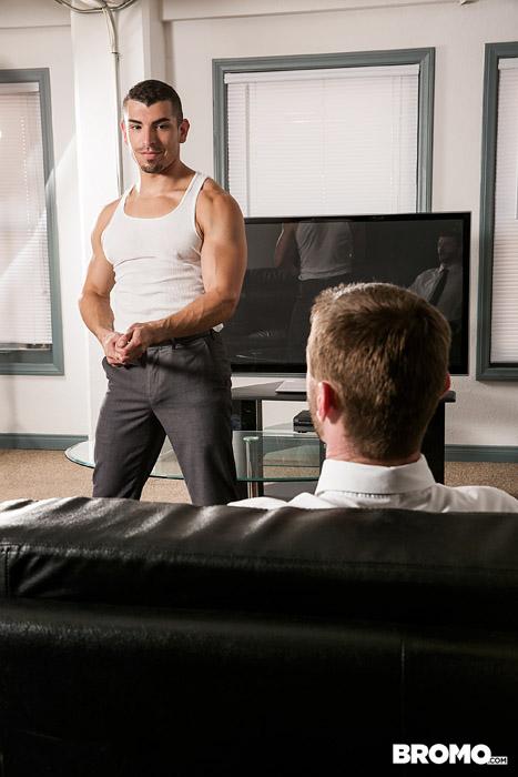 The Business of Barebacking (Dennis West Fucks Jeremy Spreadums) (Part 2) (Bareback) at Bromo